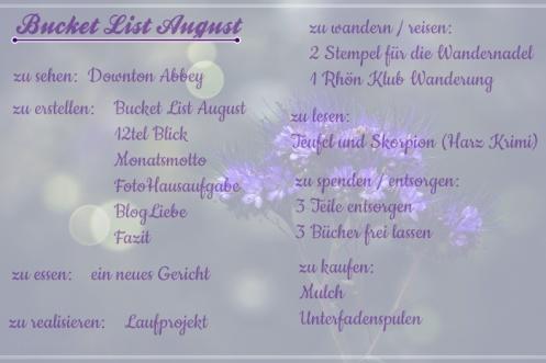 Bucketlist_August